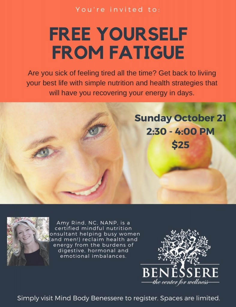 free yourself from fatigue