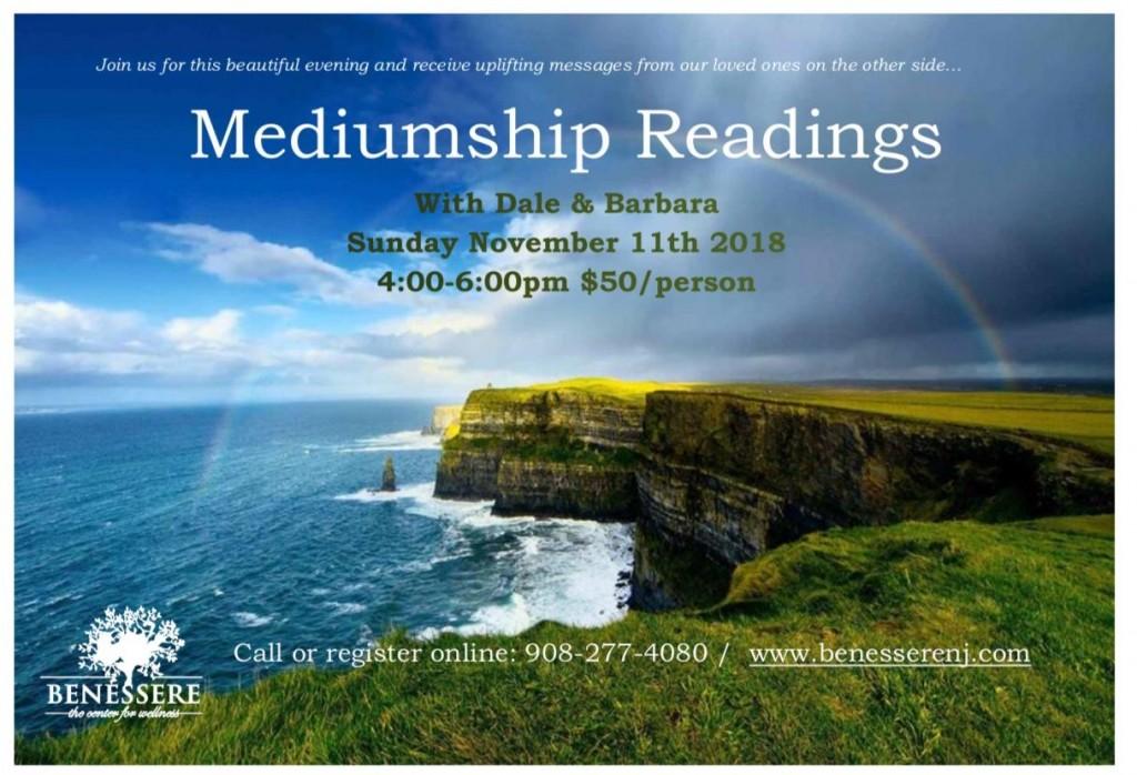 mediumship workshop Nov 11