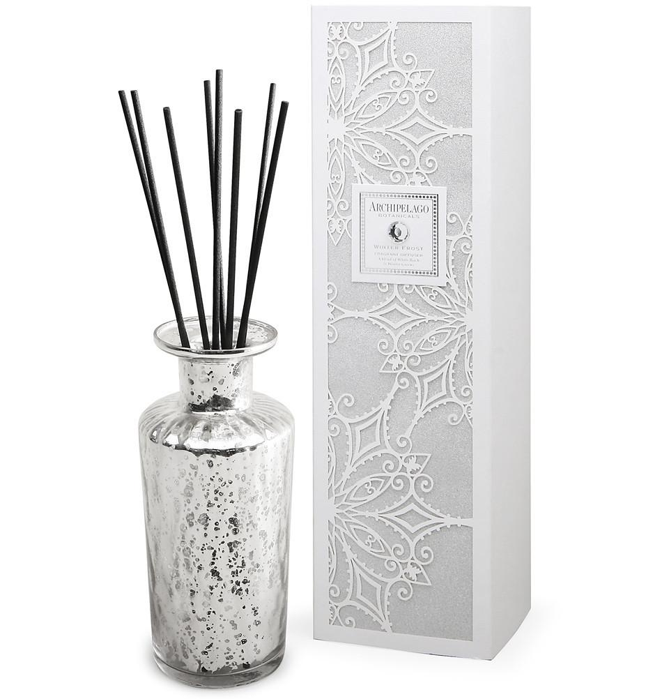 archipelago winter frost diffuser set